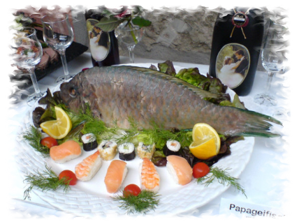 Papageifisch, Sushi